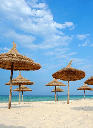 Redenen vakantie Tunesië: zon