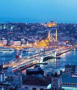 Mooiste skylines, Istanbul