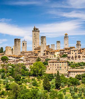 Mooiste skylines, San Gimignano