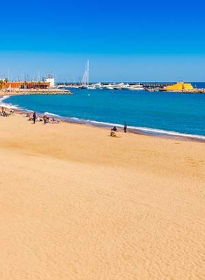 Stranden Costa Barcelona, Barcelona