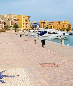 Jachthaven, 5 redenen El Gouna