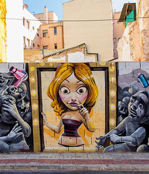 doen in Málaga: street art