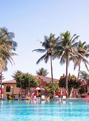 Gambia met kinderen: hotels