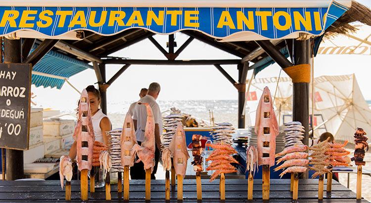 Gids leukste adresjes Málaga: visrestaurant