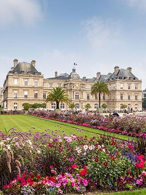 Gratis doen Parijs, Jardin du Luxembourg