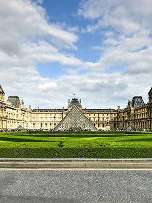 Gratis doen Parijs, Louvre