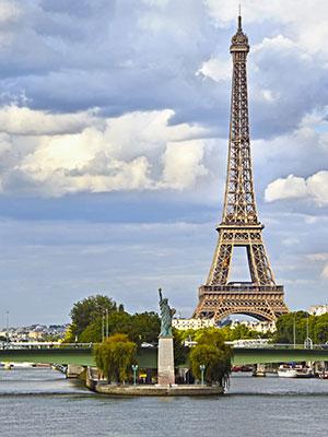 Gratis doen Parijs, Vrijheidsbeeld
