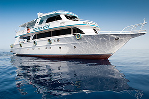 Mooiste duikspots Hurghada: boot