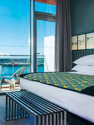 Pestana CR7 Funchal, Christiano Ronaldo hotel: kamer