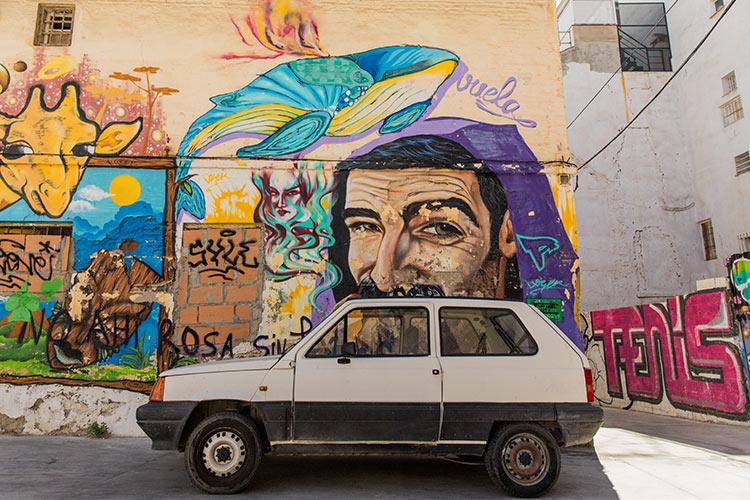 Street art in Málaga