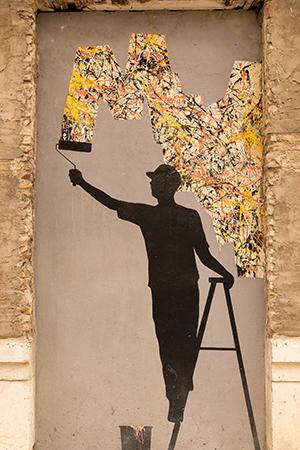 Street art Malaga: Soho