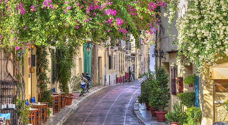 Wijken Athene