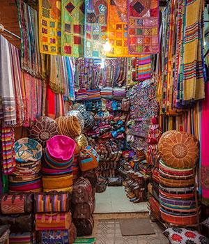 Doen in Marrakech, winkeltjes