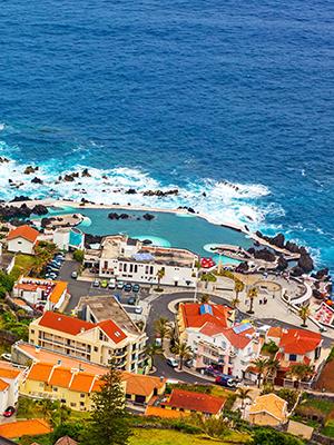 Madeira met kinderen, zwembad