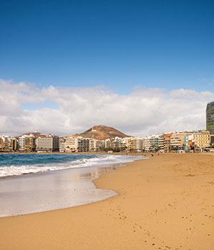 Las Palmas, stranden Gran Canaria