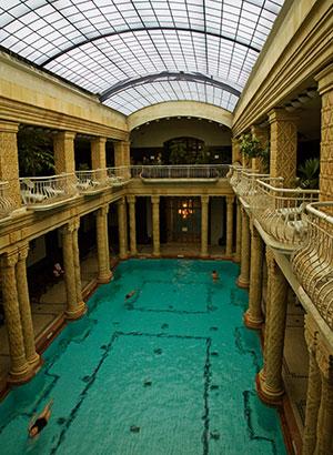 Gellert, mooiste badhuizen Boedapest