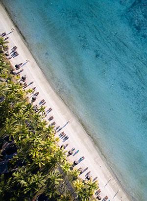 Mooiste badplaatsen Mauritius: Trou aux Biches