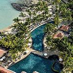 Mooiste badplaatsen Mauritius: Grand Baie, Beachcomber Le Mauricia