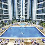 Kerst in de zon; Dubai, Ghaya Grand Hotel