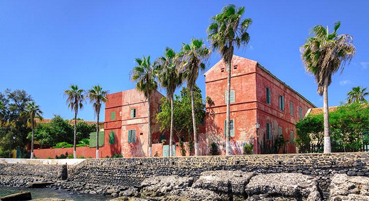 Ile de Gorée, Senegal: slaveneiland
