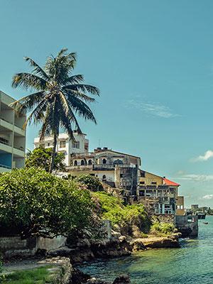 Kust van Kenia, Mombassa