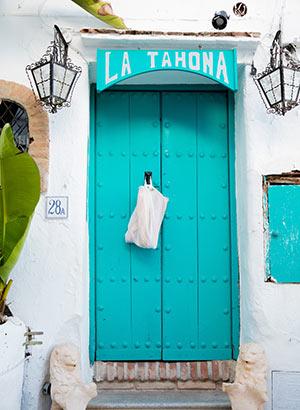 Lieflijk Frigiliana, Andalusië