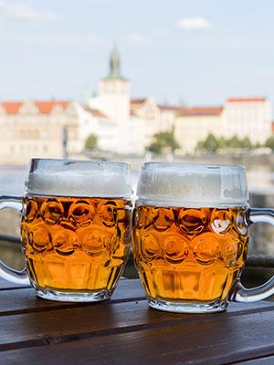 Praag voor beginners, bier