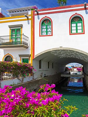 Puerto de Mogan, gracht