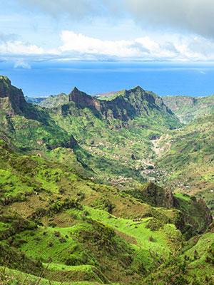 Santiago grootste Kaapverdische eiland, natuur