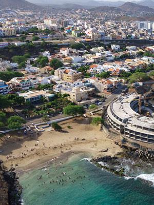 Santiago grootste Kaapverdische eiland, Praia