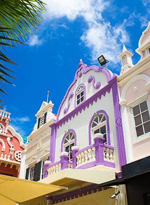 Aruba met kinderen: Oranjestad