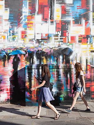 Street art Londen, Camden