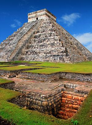 Chichén Itzá, Mexico: tempel van Kukulcán