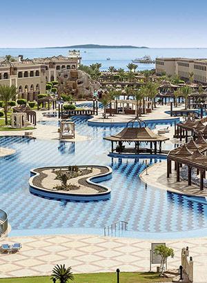Doen in Hurghada: luxe hotels