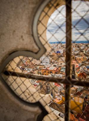 Doen in Valencia: uitzicht
