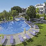 Rustige zuiden van Rhodos; Ekaterini Hotel, Kiotari
