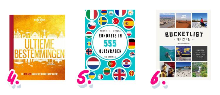 Kerstcadeaus voor reizigers: boeken