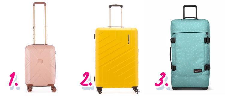 Kerstcadeaus voor reizigers: koffers