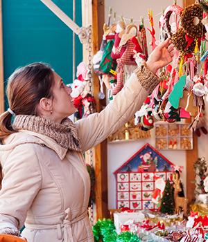 Onbekendere Duitse kerstmarkten, kraampje