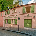 Wijken Parijs: La Maison Rose
