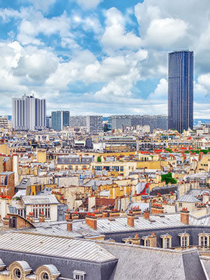 Wijken Parijs, Montparnasse