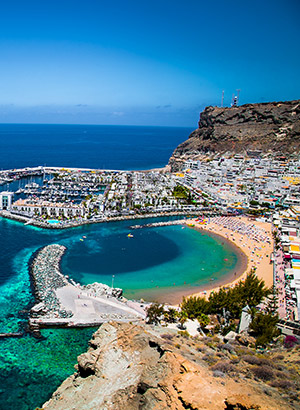 Mooiste stranden Gran Canaria: Playa de Mógan