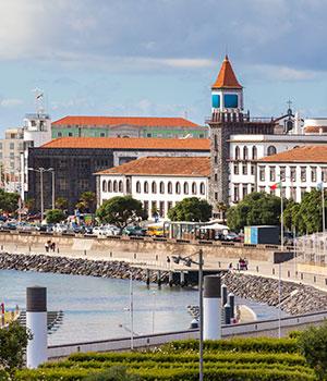 Sao Miguel, Ponta Delgada