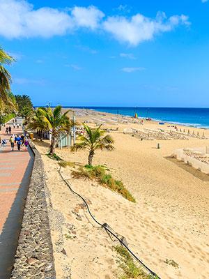 Fuerteventura met kinderen, strand