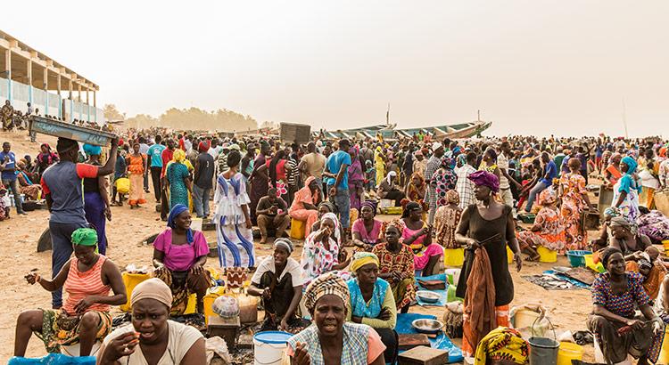 Visafslag M'bour, Senegal
