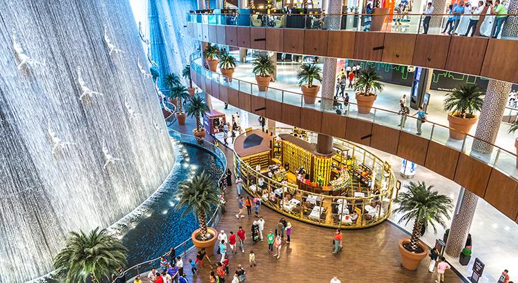 Winkelen Dubai Mall