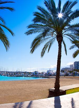 Leukste badplaatsen Ibiza: Sant Antoni de Portmany