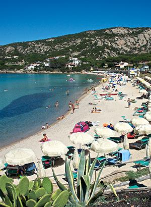 Badplaatsen Sardinië: Baia Sardinië
