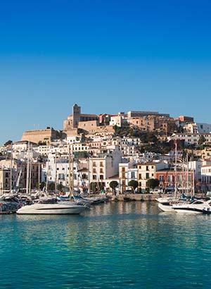 Europese eilanden auto ontdekken: Ibiza