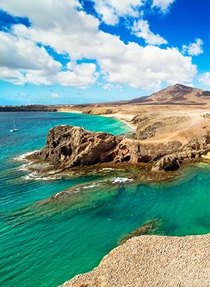 Eilanden auto ontdekken: Lanzarote